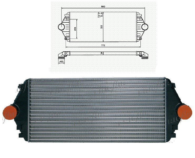 refroidisseur changeur air turbo lancia zeta 1472059080. Black Bedroom Furniture Sets. Home Design Ideas