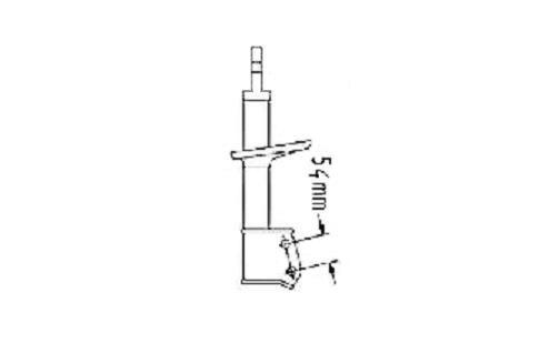 jeu amortisseurs avant hydrauliques renault clio 7700838083. Black Bedroom Furniture Sets. Home Design Ideas
