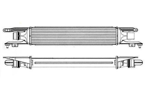 refroidisseur echangeur air turbo 1 3l cdti opel corsa 55702004. Black Bedroom Furniture Sets. Home Design Ideas