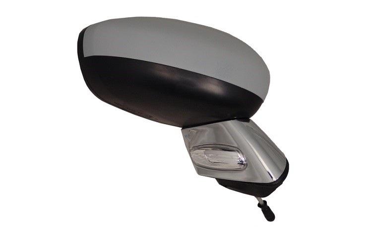 r troviseur droit lectrique chauffant rabattable peindre feu sonde support chrome. Black Bedroom Furniture Sets. Home Design Ideas
